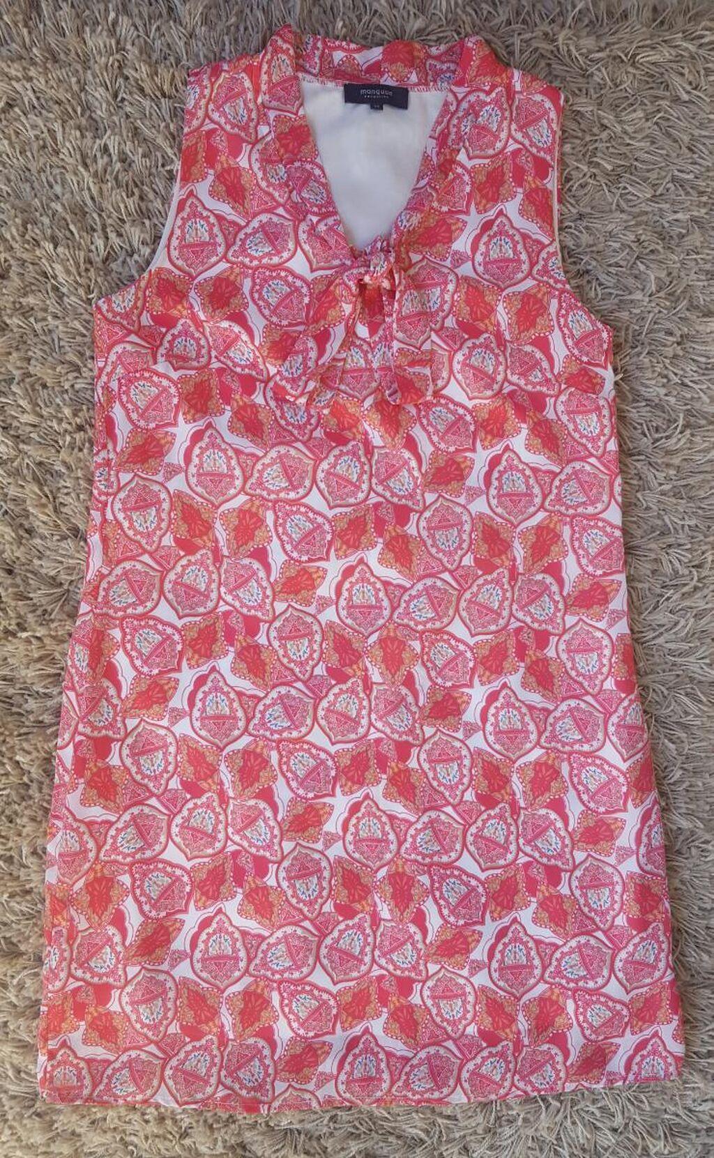 Preslatka haljinica sa mašnom napred na vezivanje