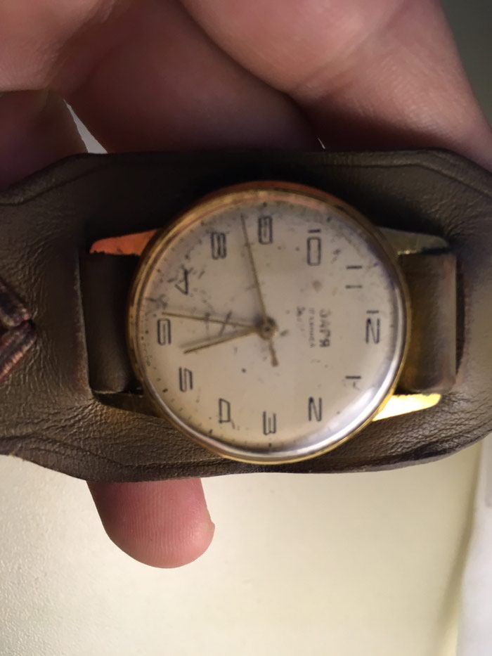 Qadın Qızılı Klassik Qol saatı . Photo 0