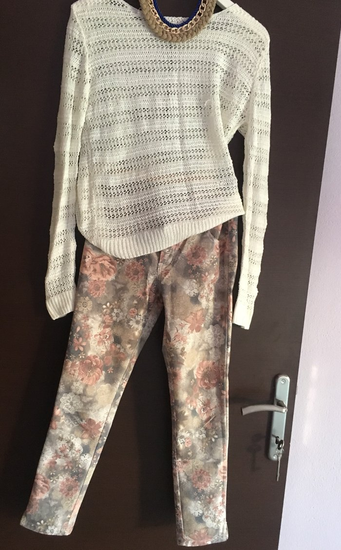 Φλοράρ παντελόνι ! Το μπλουζάκι και το. Photo 0