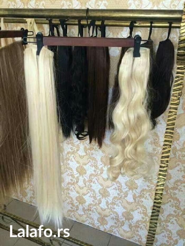 Ženska odeća - Pancevo: Nadogradnja kose na clipse