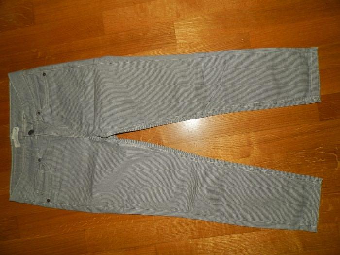 H&m ριγε παντελονι ανοιξιατικο ν38 medium  . Photo 0