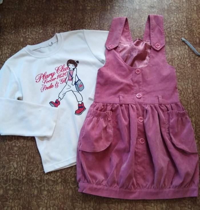 8ab4f6d2163e7ff 6/7/8 лет)Вельветовый сарафан с за 250 KGS в Кок-Ойе: Детские платья ...