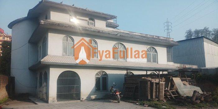 A European stylist 2.5 stories semi bungalow house having land are in Kathmandu