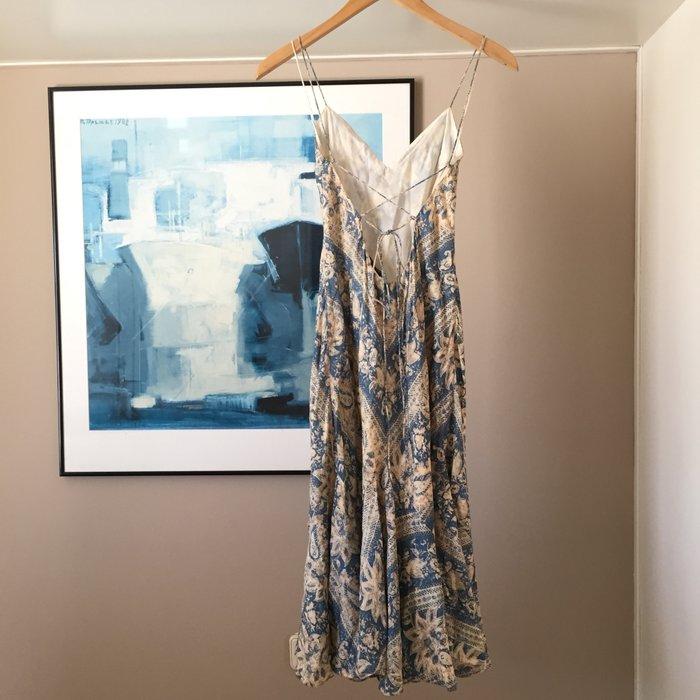 Αυθεντικό Ralph Lauren αμάνικο, μεταξωτό,maxi. Photo 4