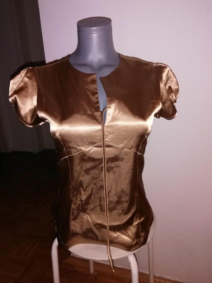 Košulje i bluze - Novi Sad: Fashion staro zlato saten nenosena
