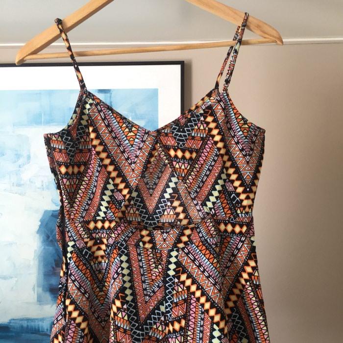 H&M κοντή αμάνικη ολόσωμη φόρμα. Tribal,. Photo 6