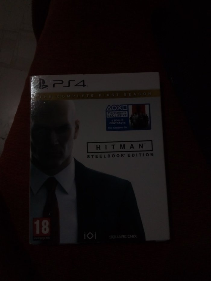 Hitman steelbook edition ενος μηνα. Photo 0