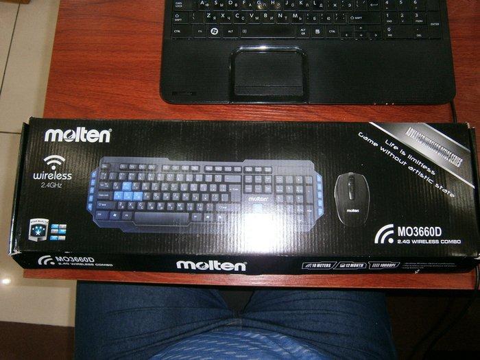 Bakı şəhərində Molten mo3660d 2,4ghz wi-fi (keyboard mouse)  molten firmasinin malidi