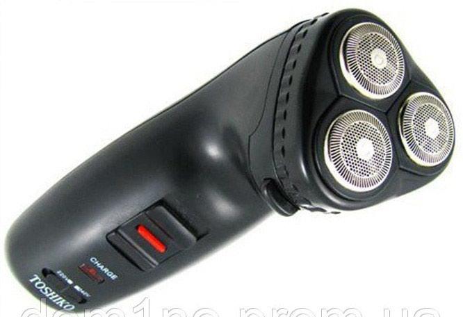 Роторная заряжаемая бритва 3 в 1 с триммером для носа  . Photo 2