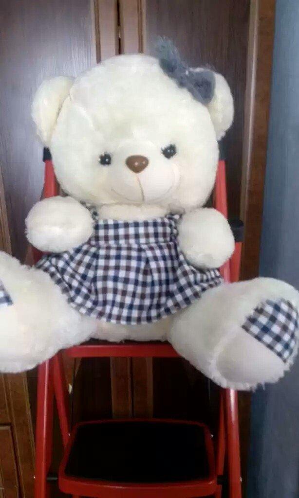 Продаю плюшевых медведей цена от 80 и 100с. размеры разные  70 и 50. Photo 0