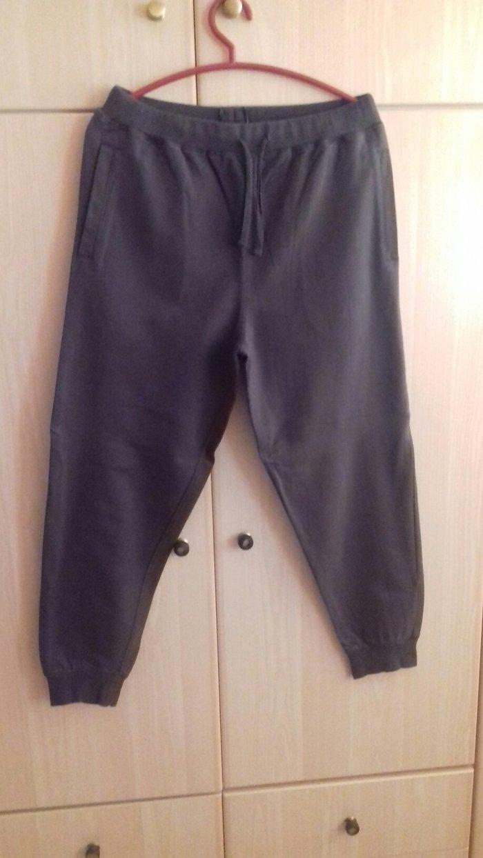 Παντελόνι φούτερ Μ/L, αφόρετο 👉 σε Αχαρνές