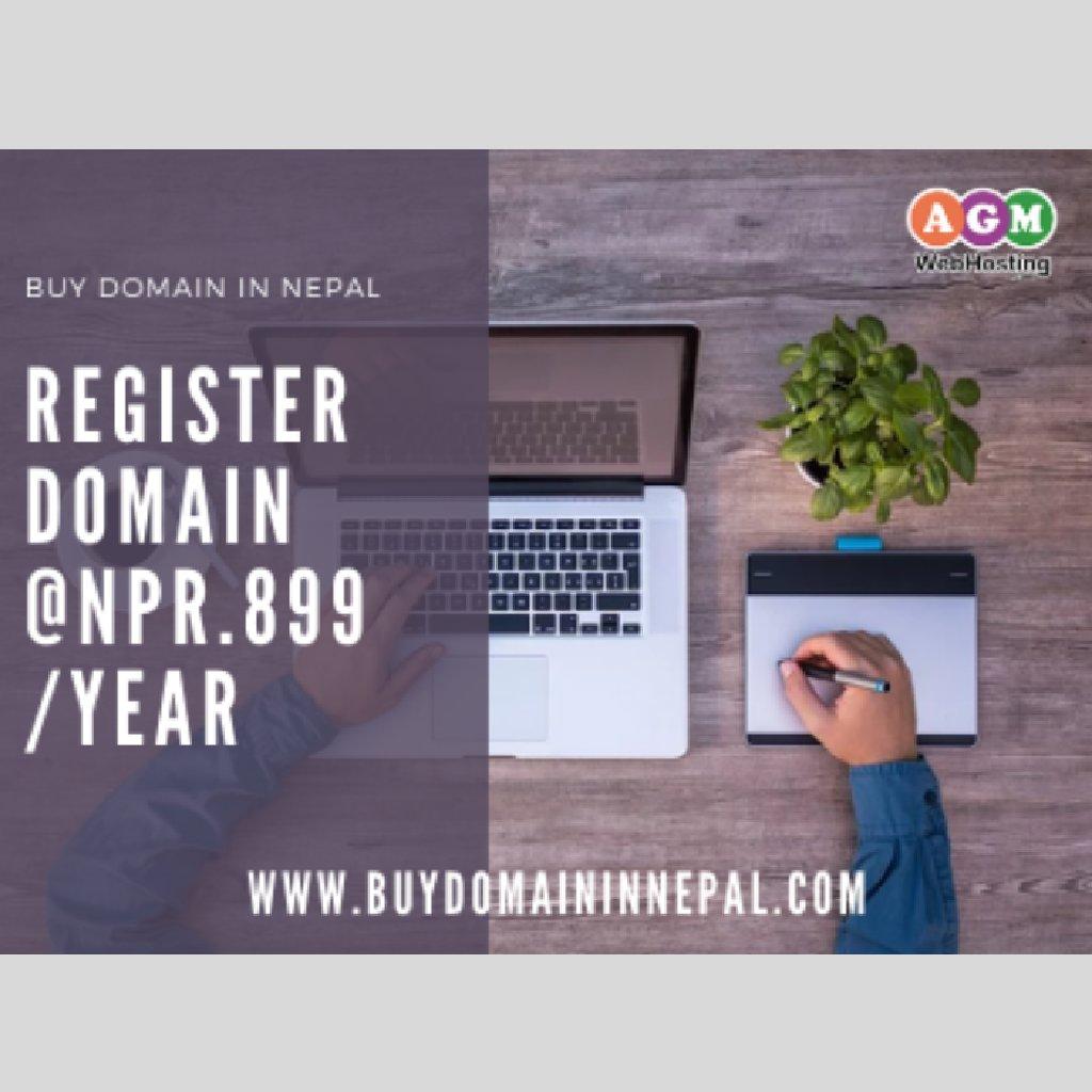 Domain Registration in Nepal - Buy Domain in Nepal: