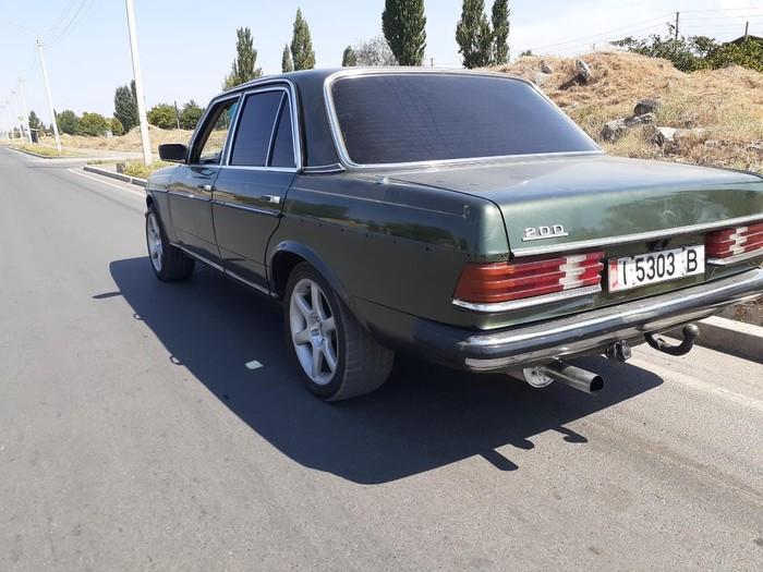 Mercedes-Benz W123 1981. Photo 2