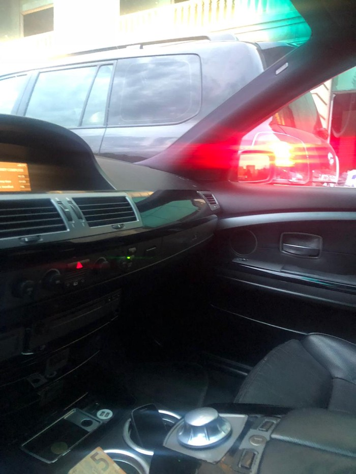 BMW 745 2002. Photo 5