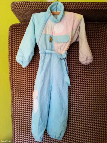 Toper deciji skafander,nezno plave boje sa kombinacijom bele, nezno - Pozarevac