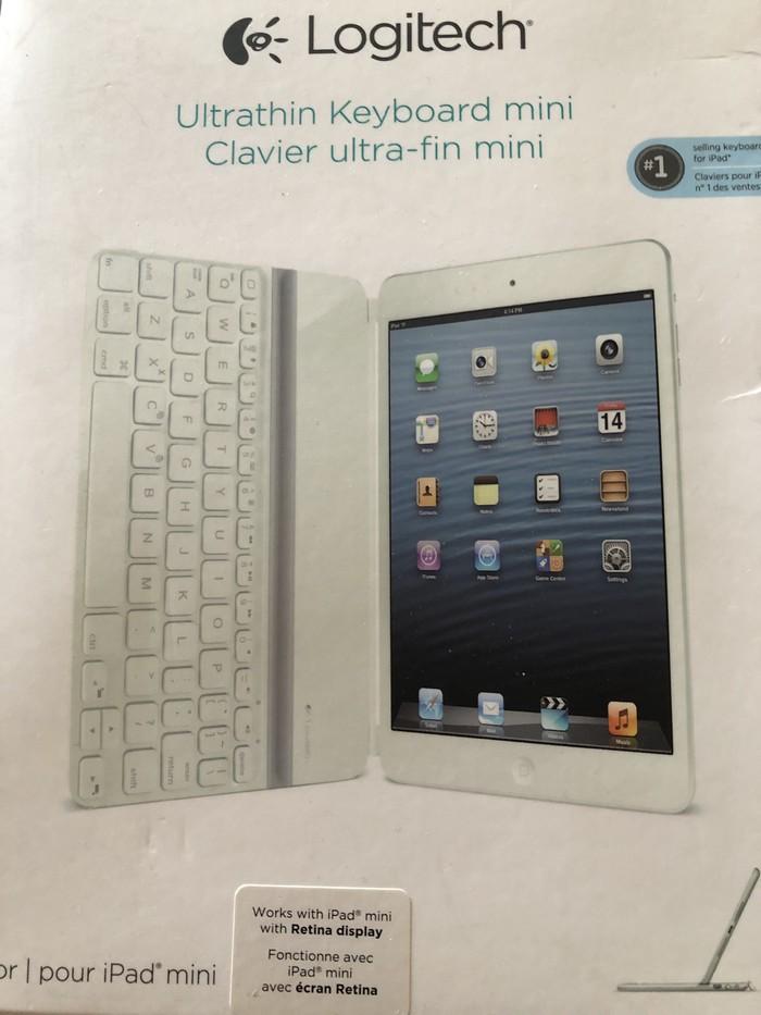 Oλοκαίνουργιο Logitech πληκτρολόγιο Για Mini iPad ακόμα στο κουτί! . Photo 0