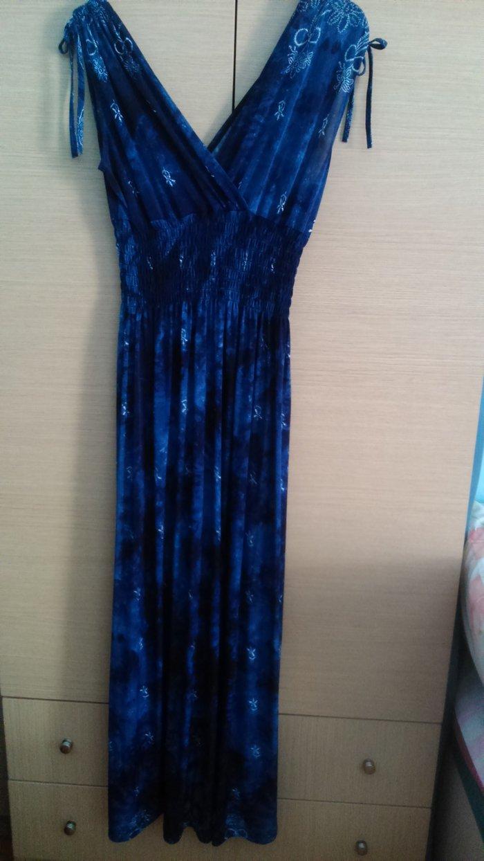 Φόρεμα μακρύ, αφόρετο, μέγεθος one size.. Photo 0