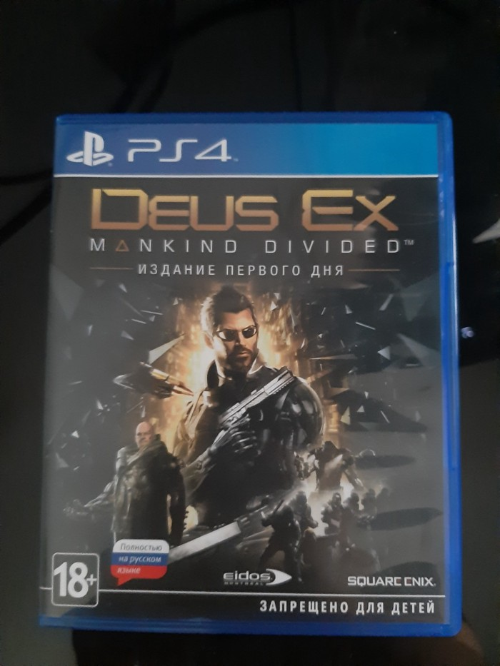 Deus Ex:Mankind Divided(rus) PS4 Возможен бартер. Photo 0