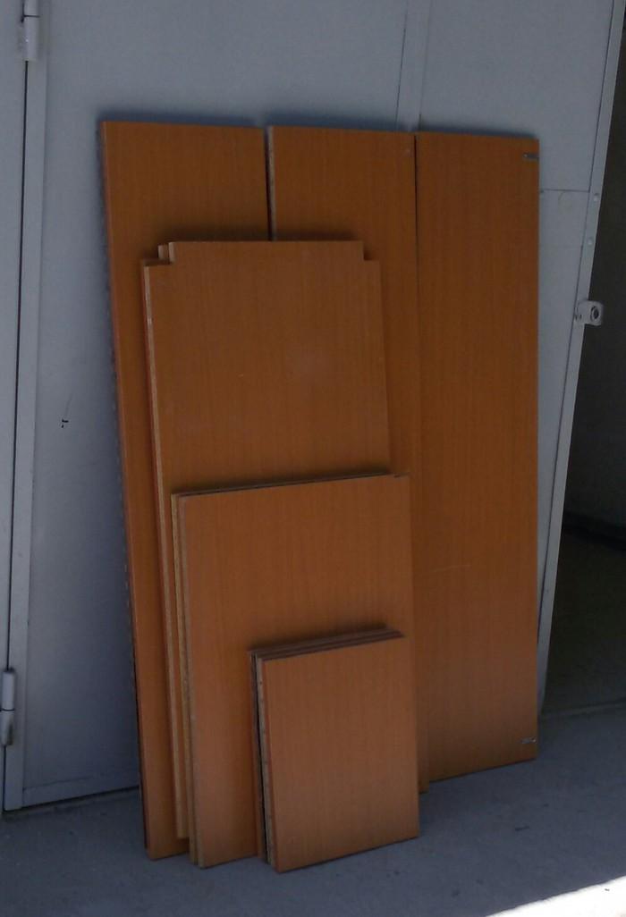 Лист дсп. Разборный мебель. Общий примерный размер 2м × 2.4м. Photo 0