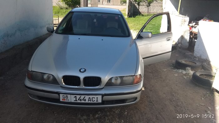 BMW 520 2000. Photo 8