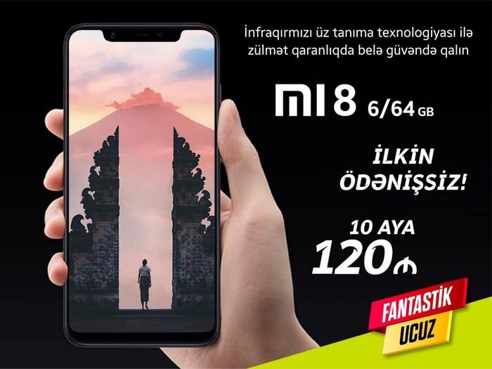 Yeni Xiaomi Mi 8 64 GB . Photo 0