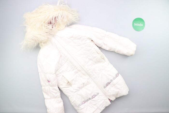 Дитяча подовжена куртка Pilguni, зріст 128 см    Довжина: 68 см Ширина: Дитяча подовжена куртка Pilguni, зріст 128 см    Довжина: 68 см Ширина
