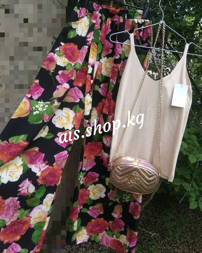 Кюлоты - ПРОДАНЫ✓ Майка - стандарт - 450 сом сумка - 600 сом. Photo 0