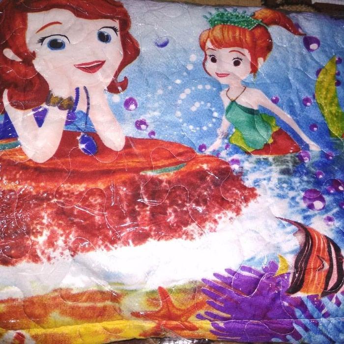 Детское покрывало + наволочка. Материал бамбук в Бишкек