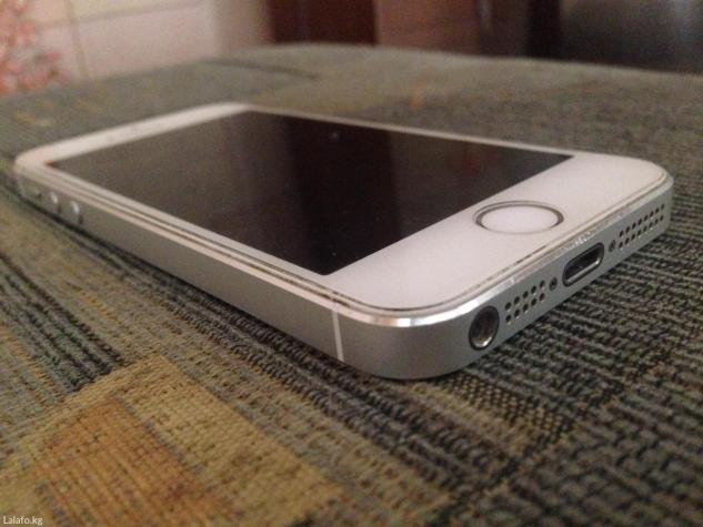 Iphone 5s 32gb в идеале каробка докумменты з/у в Бишкек