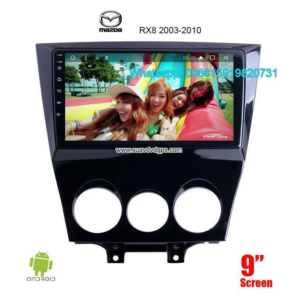 Car Accessories - Banepa: Mazda RX8 smart car stereo Manufacturers    Model Number: SUV-M9512A