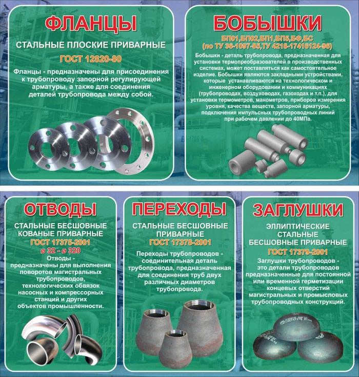 Детали трубопровода (Производство. Photo 0