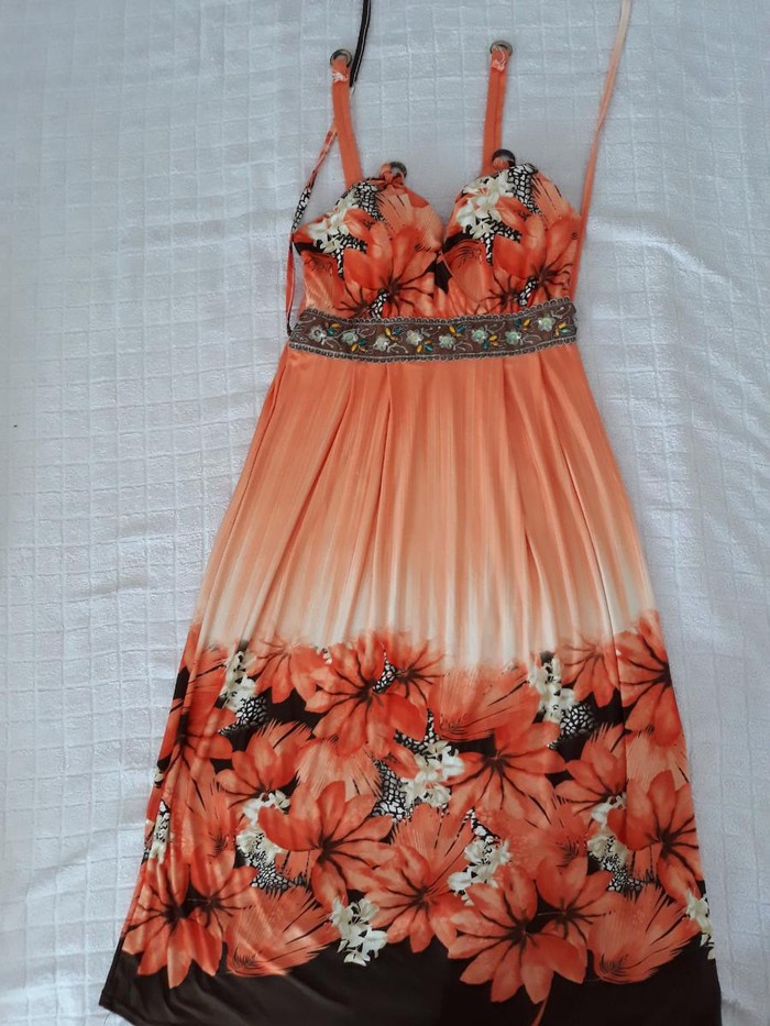 Letnja M/L haljina (fale drikeri na bratelama)