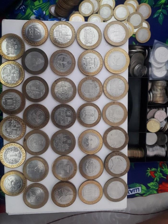 Юбилейный монеты 10 рублей, 34ш все разный,5 под. Photo 3