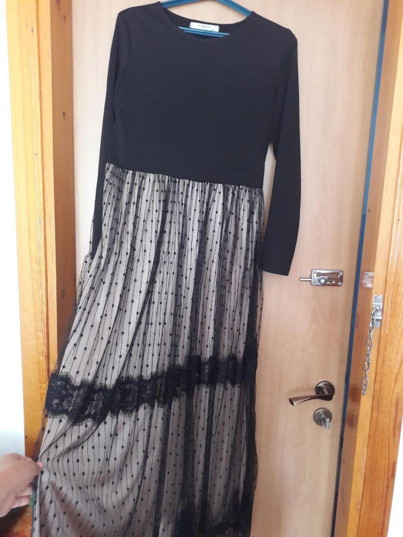 Новое платье отличного качества . Красивое в пол. Одевала 1 раз