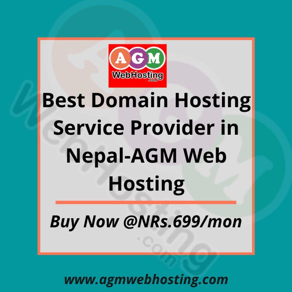 Best Domain Hosting Service Provider in Nepal-AGM Web Hosting: