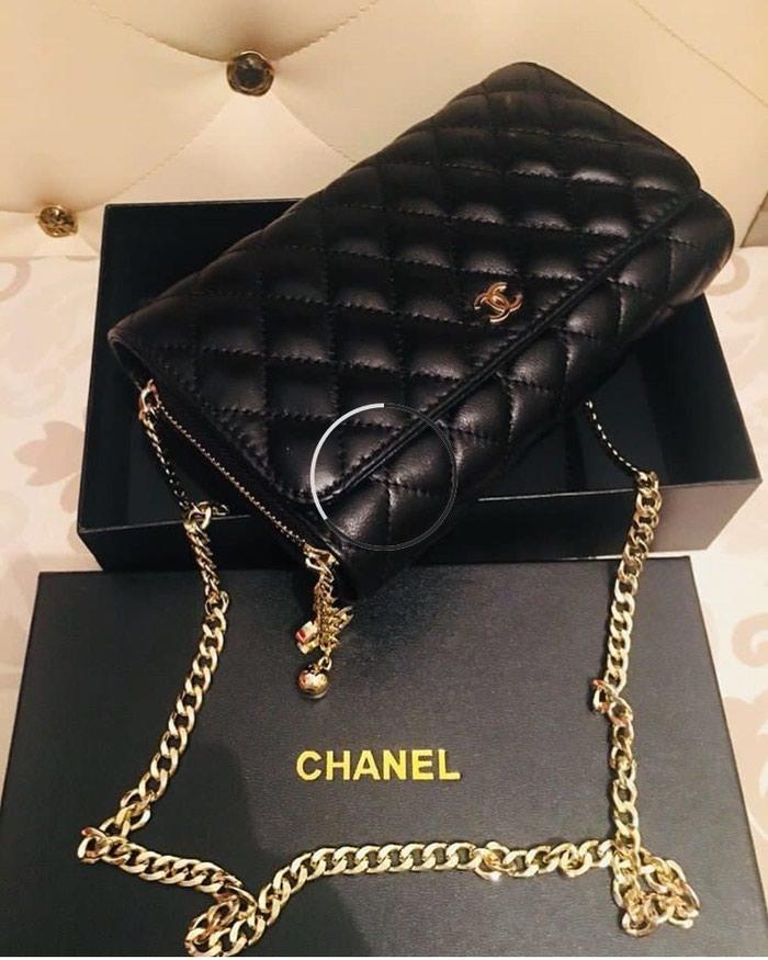 a15c5c97de41 Сумка Chanel, кожа за 3000 KGS в Бишкеке: Сумки на lalafo.kg
