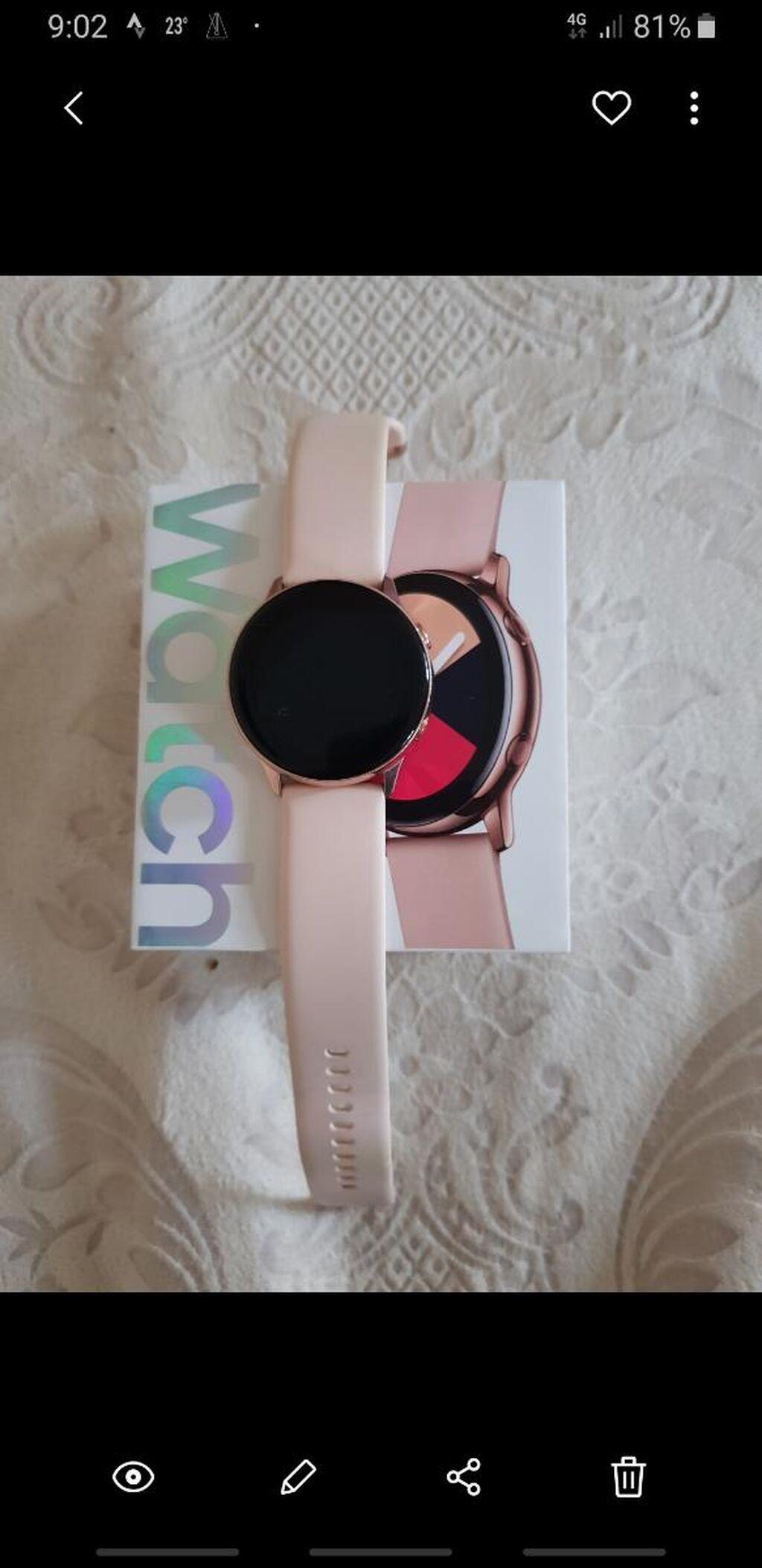 Красные Женские Наручные часы Samsung