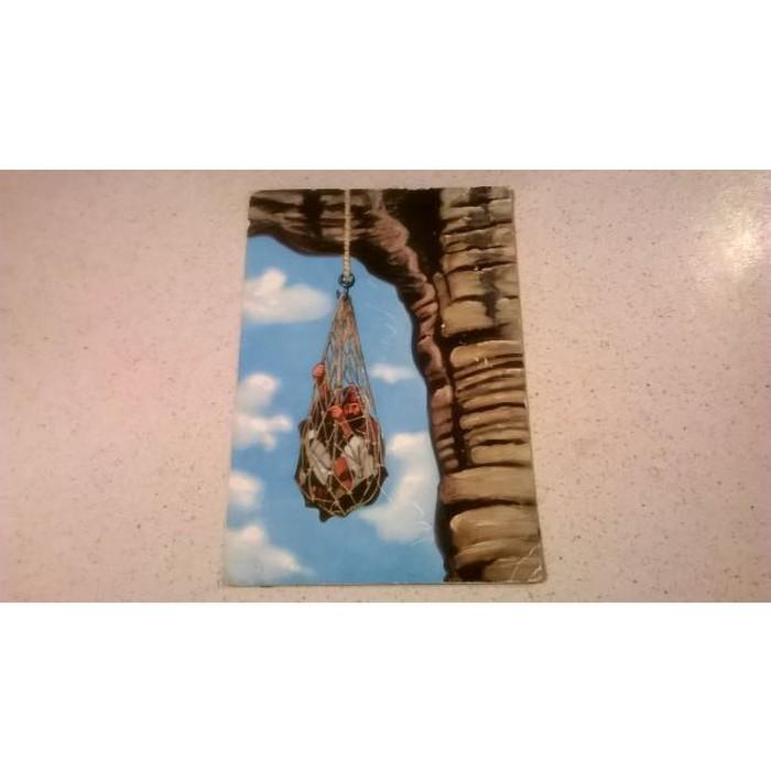1 Καρτ Ποστάλ - Μετέωρα - Δίχτυς αναβάσεως Μετεώρων - Edition Const