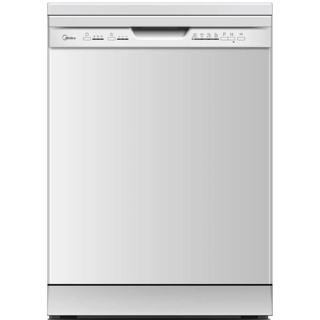 Midea DWB12-5203 посудомоечная машина новая!! Цвет белый,вместимость комплектов 12 , 2 корзины,электронное управление,4 программы (эко,быстро,интенсивный 90 мин)