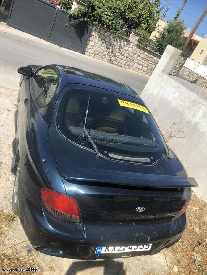 Hyundai Coupe 2000. Photo 4
