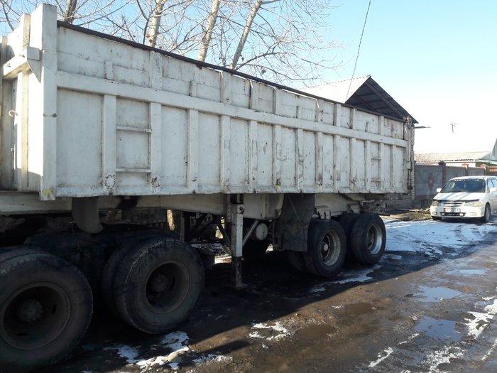 срочно продаю тонар прицеп самасвалный 2мостовый 7. 30см  метровый все в Бишкек