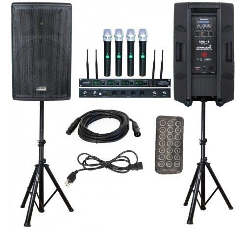DJ xidmeti, Sehne, Ses ve ishig sistemlerinin qurashdirilmasi.. Photo 4