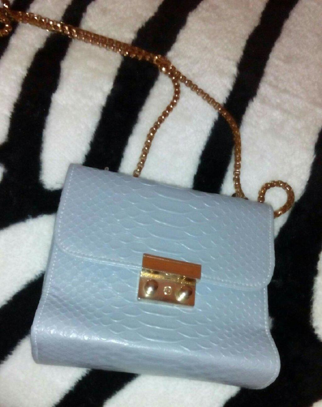 Mavi reng mini canta