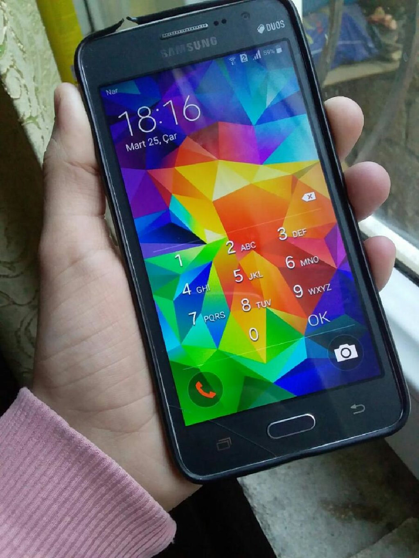 İşlənmiş Samsung Galaxy Grand 8 GB boz