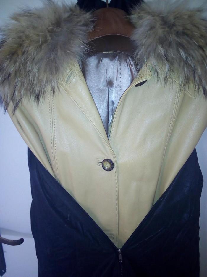 Real leather jacket. Photo 1
