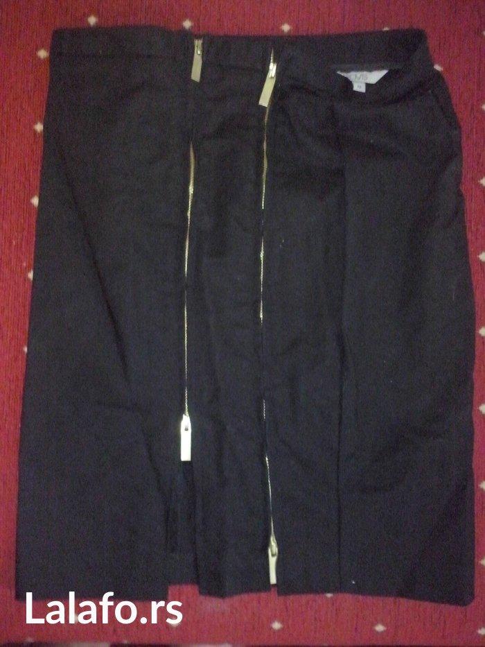 Oviese suknja sa ziperima za podešavanje šlica,veličina 42 - Beograd