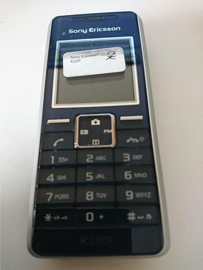 Sony Ericsson K220i - Ocean blue ΣΕ ΑΡΙΣΤΗ ΚΑΤΑΣΤΑΣΗ, ΧΩΡΙΣ ΦΟΡΤΙΣΤΗ