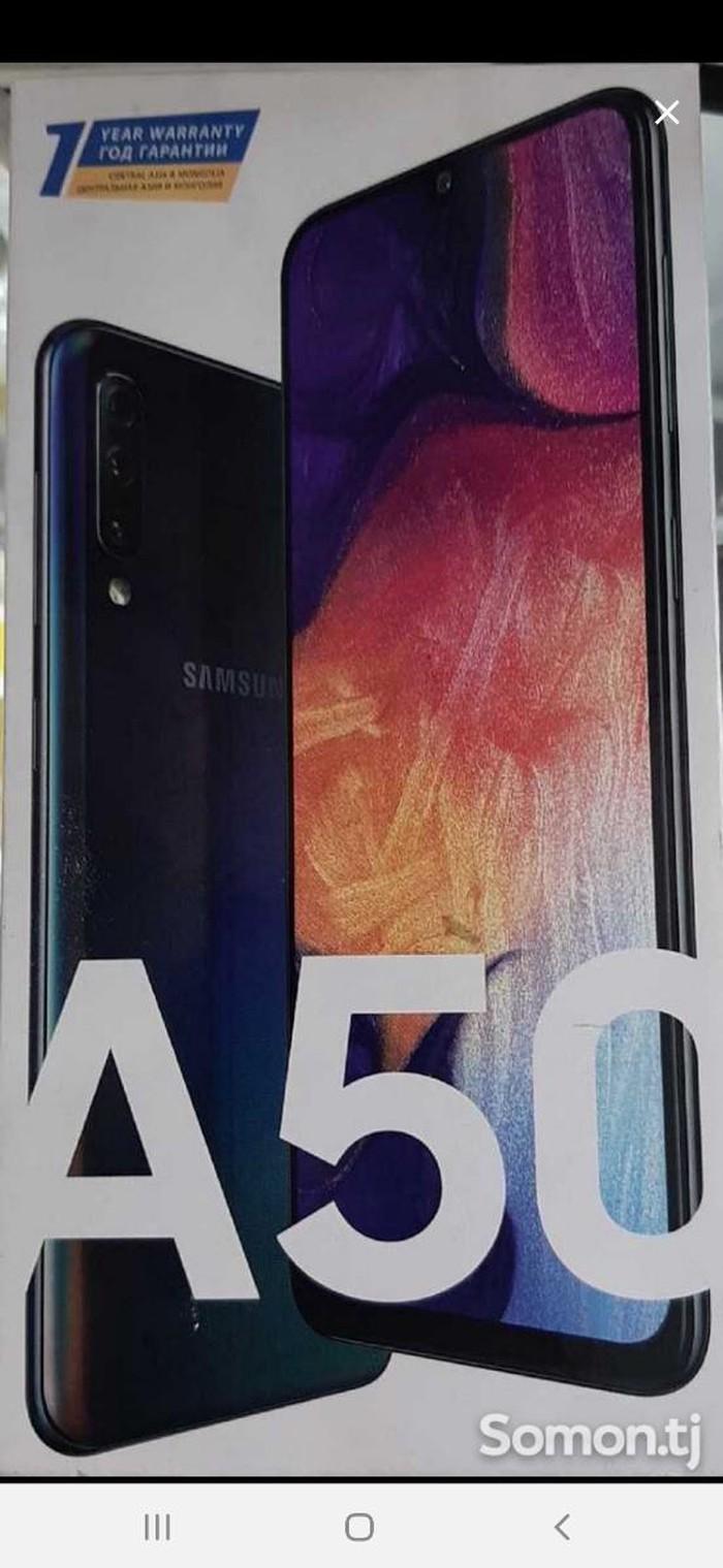 Новый Samsung A50 64 ГБ Черный. Photo 0