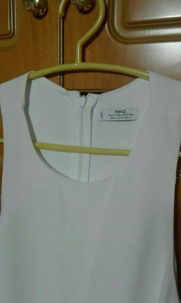 Φόρεμα λευκό mango large. Photo 0