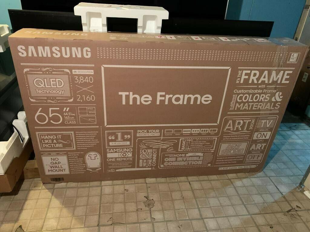 Σειρά πλαισίων Samsung QN65LS03 65 2160p (4K) υψηλής ευκρίνειας Smart TV